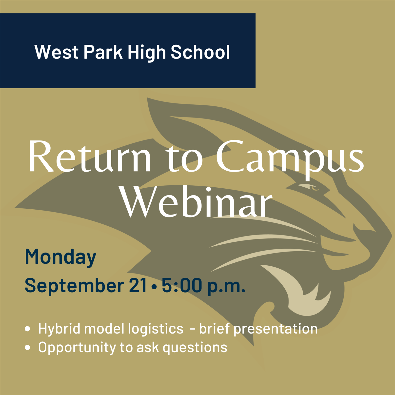 Return to Campus Webinar